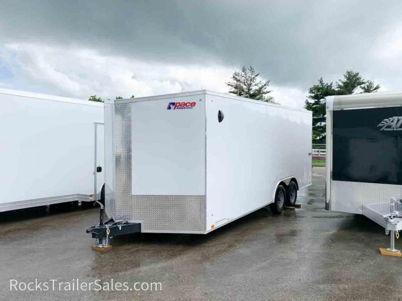 2022 Pace American 8.5 X 24 FT ENCLOSED JOURNEY SE