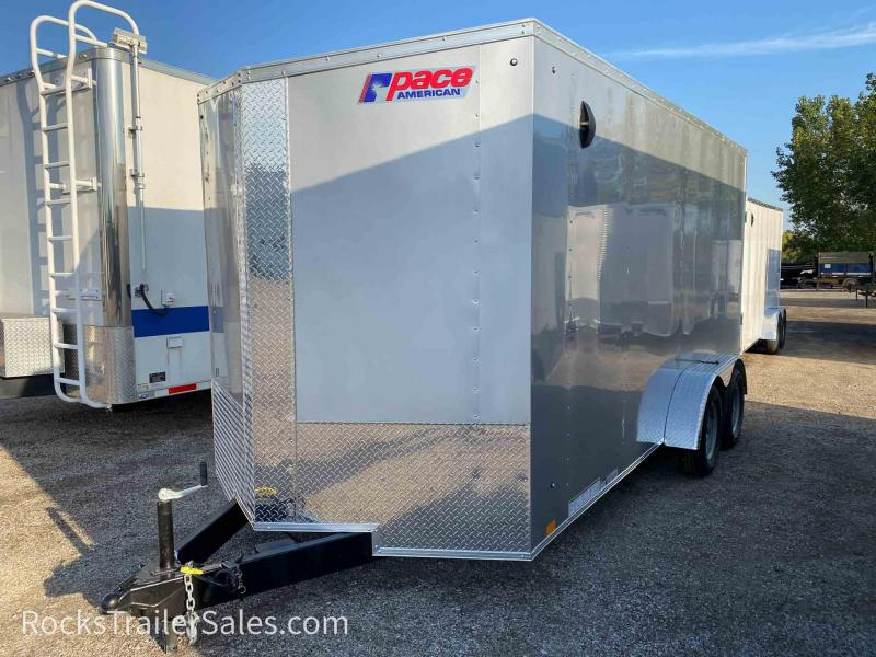 2022 Pace American JOURNEY SE 7 X 16 FT ENCLOSED CARGO TRAILER