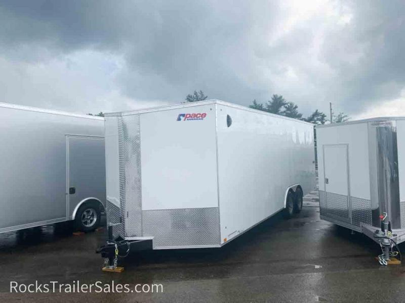2022 Pace American 8.5 X 20 FT ENCLOSED JOURNEY SE