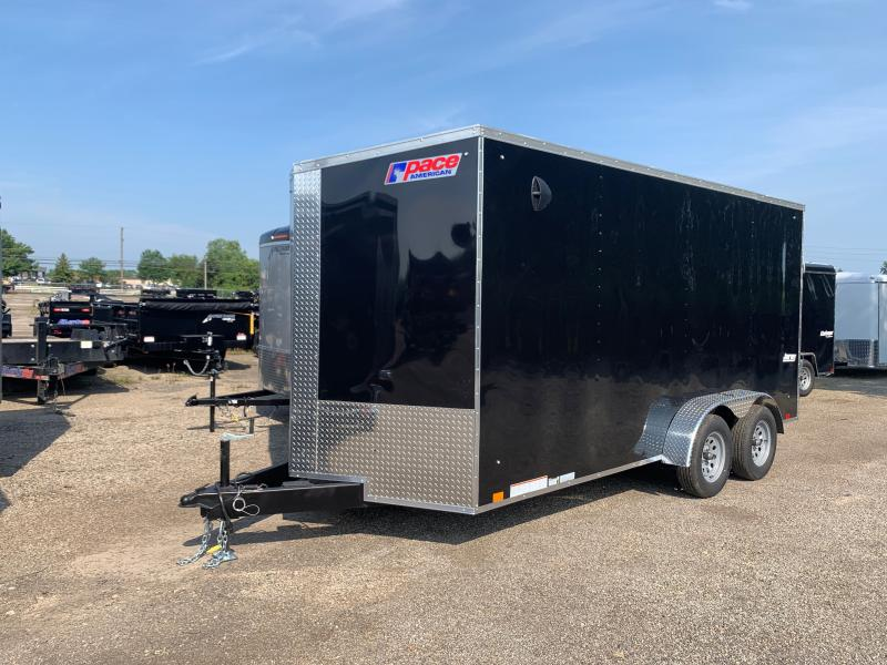 2022 Pace American JOURNEY SE 7 X 16 FT ENCLOSED CARGO