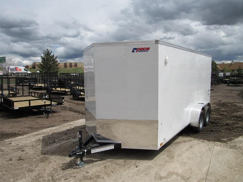 2022 Pace American PSCAB7.0X16TE2FF Enclosed Cargo Trailer