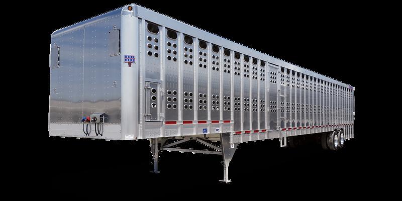 2021 EBY Ground Loader Aluminum Livestock Livestock Trailer