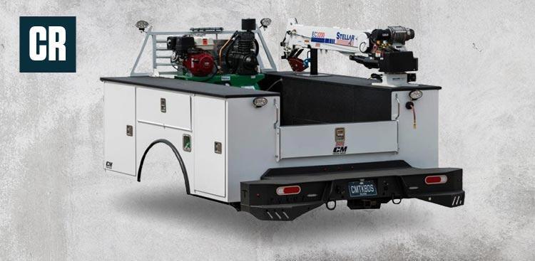 8' Single Wheel Service Body Truck Bed