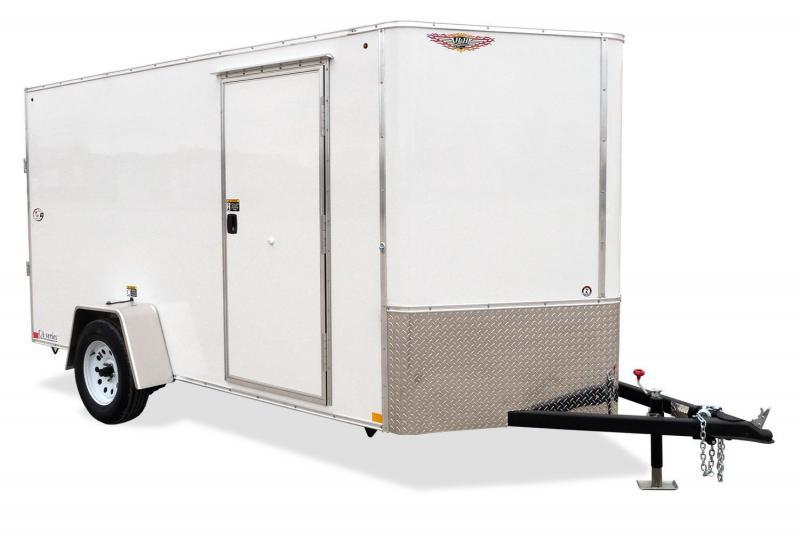 H&H SERIES FLAT TOP CARGO SINGLE AXLE H7212SFTV-035 6'x12 3k