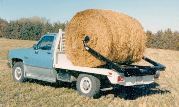 Universal Flatbed Bale Loader Truck Bed