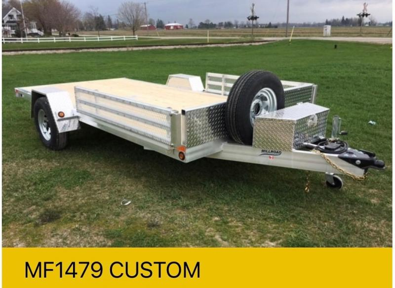 2022 Millroad Flatbed Trailers