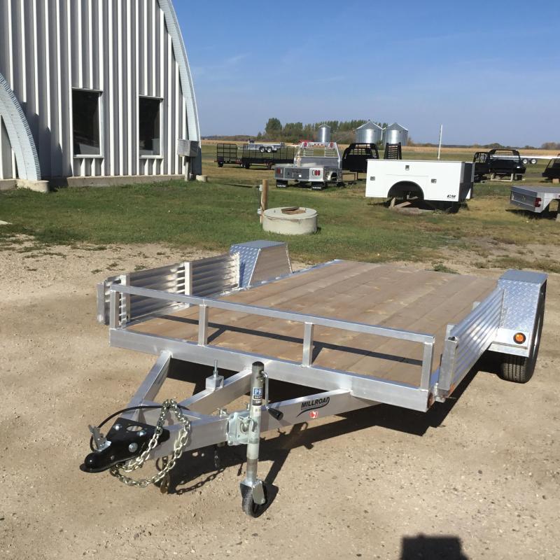 2022 Millroad Trailers MODEL-MF612 ATV Trailer
