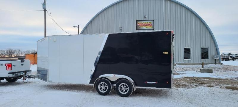 2021 Weberlane W719SACTW Eclosed  Snowmobile Trailer