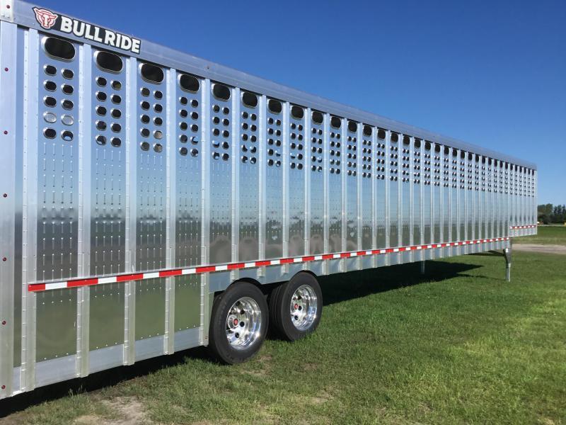 2022 EBY Ground Load Aluminum  Livestock Trailer