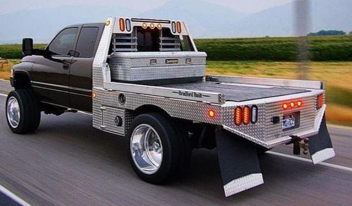 "Bradford Built 84"" x 102"" Aluminum Workbed"