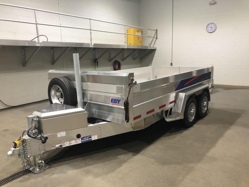 2021 EBY CB14K Dump Trailer - Aluminum