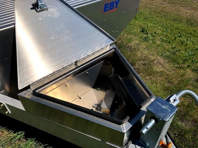 """EBY Deck Over Equipment Flatbed Trailer 24'6""""X102"""" 14k"""