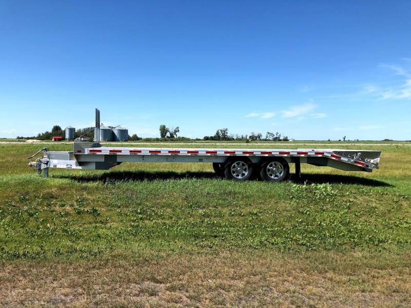 "EBY Deck Over Equipment Flatbed Trailer 24'6""X102"" 14k"