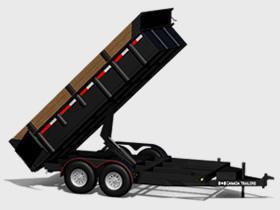 """CT  HEAVY DUTY DUMP TRAILER DT6.512-10K  77.5""""X142.5"""""""