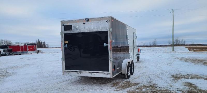 2022 Weberlane W725SSACTW Enclosed SNOWMOBLIE Trailer