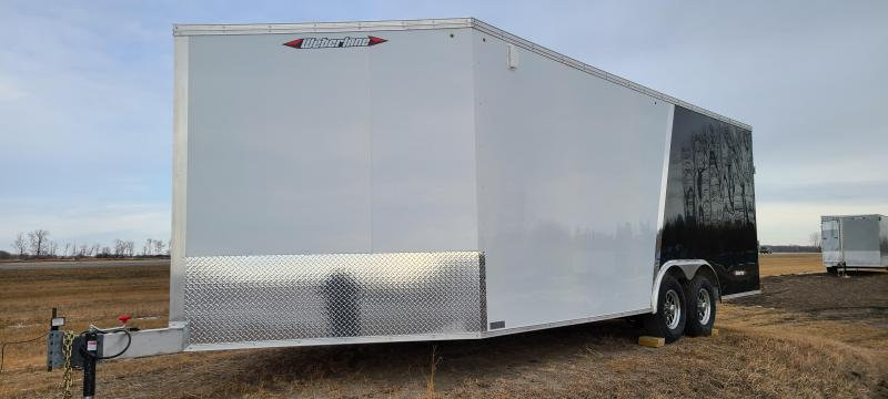 2021 Weberlane W725SSACTW Enclosed SNOWMOBLIE Trailer
