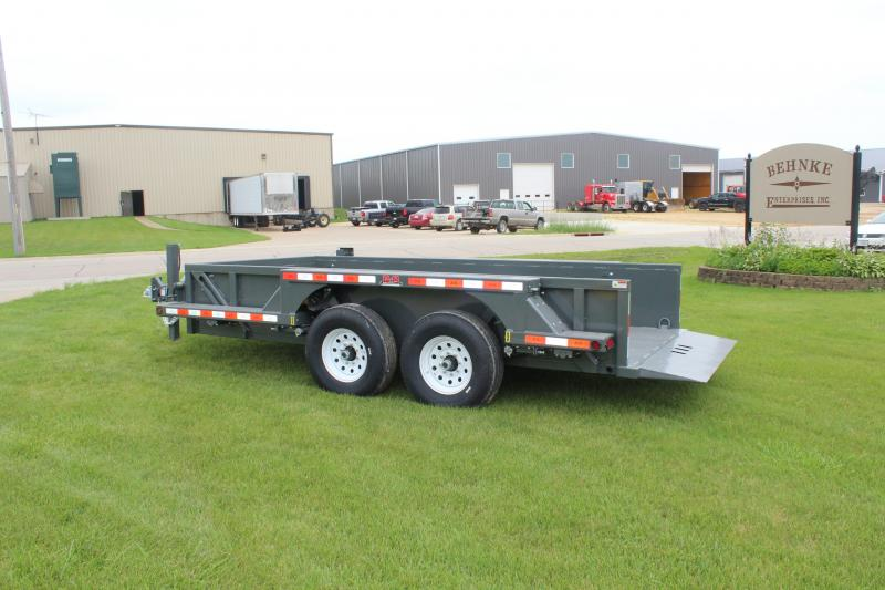 2020 B-B Behnke 14k Drop Down Flatbed Trailer