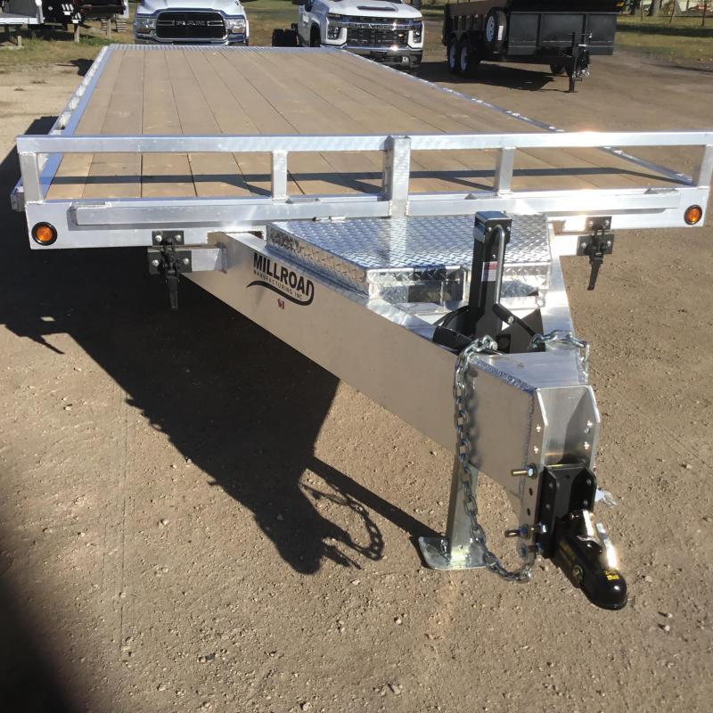 2022 Millroad Trailers MODEL-MD024T-7 Equipment Trailer
