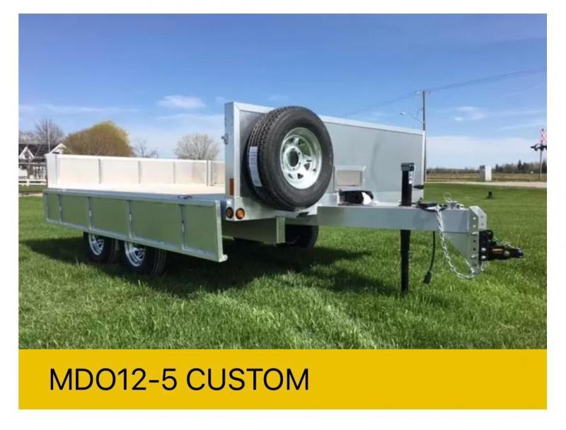 2022 Millroad MDO12-5 Custom Deckover Trailer