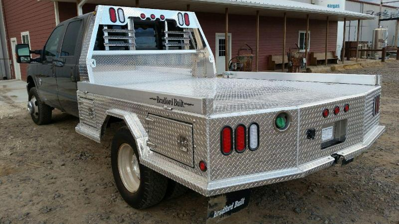 2019 Bradford Built Aluminum 4-Box Utility Truck Bed