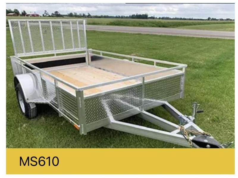 2022 Millroad MS48 Utility Trailer
