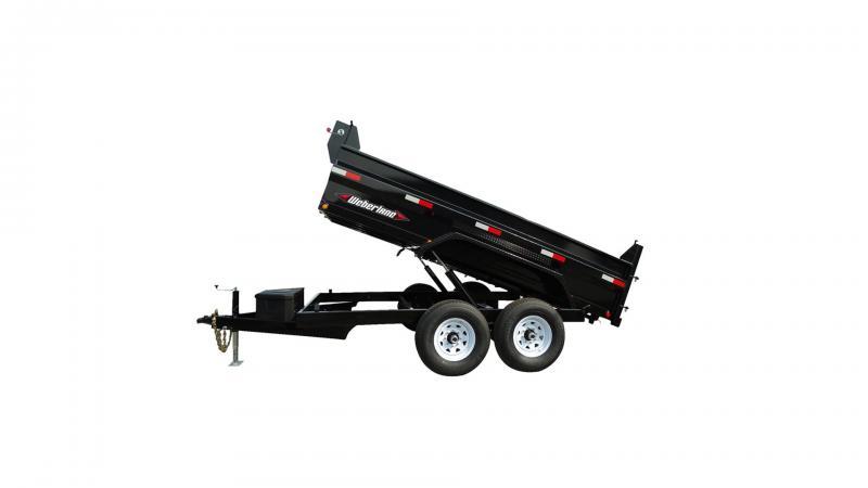 "2021 Weberlane Contractor Low Profile Dump Trailer DWL1272LP 78""x12' 10K"