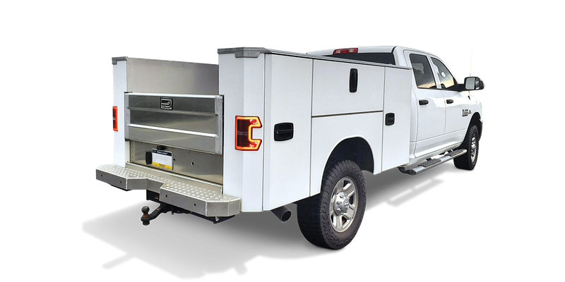 2021 EBY Renegade Service Body Truck Bed