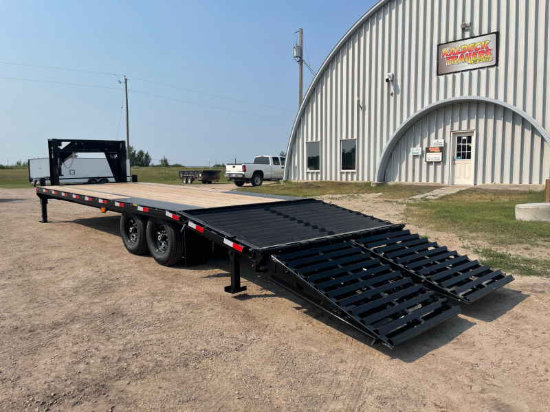 H&H Trailers H20+5SDBCL-GN14-140 Deckover Trailer