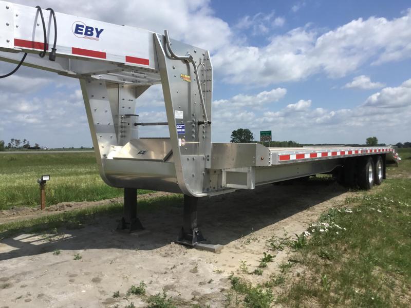 """EBY Equipment Trailer Gooseneck 25' + 5' x 102"""" 25K"""