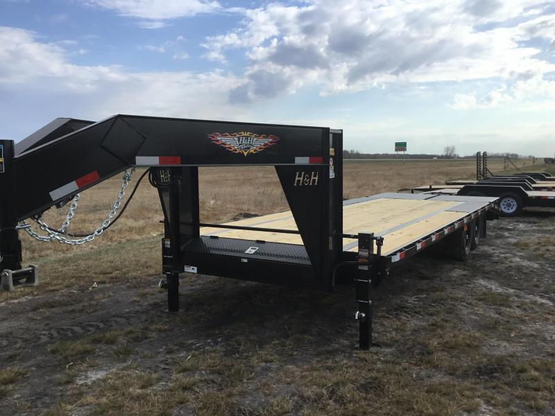 2022 H and H Trailer H20+5SDBCL-B14-140 Equipment Trailer