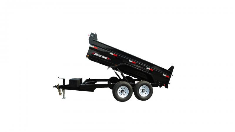 "2021 Weberlane Contractor Low Dump Trailer DWL1472LP  82""x14' 14 k"