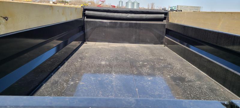 """2021 Weberlane Contractor Low Dump Trailer DWL1472LP  82""""x14' 14 k"""