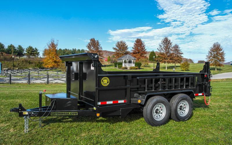2021 Quality steel Dump Trailer 7 x 12 ft 12k GVWR
