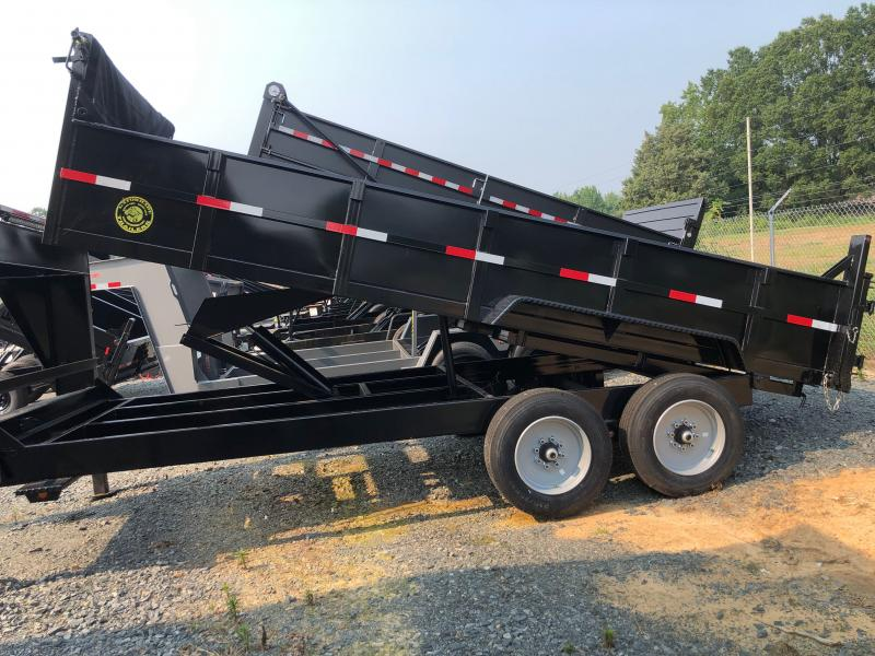 2021 Gatormade Trailers Elite Gooseneck Dump 17600GVW 16ft Dump Trailer