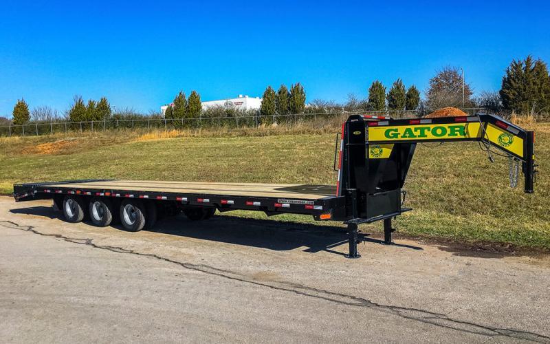 2021 Gatormade Trailers  Gooseneck 30k Tri-Axle