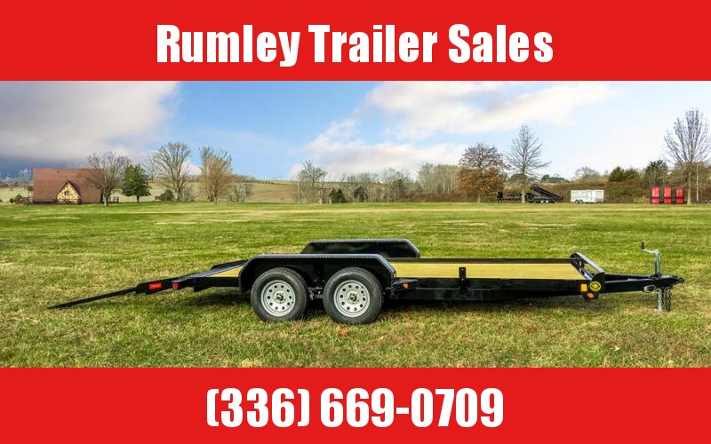 2021 Gatormade Trailers Flatbed Car Hauler Trailer (with Dovetail)