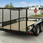 2021 Gatormade Trailers  Utility Trailer 6 ft 10 inch x 12 ft Tandem Axle 7k GVWR