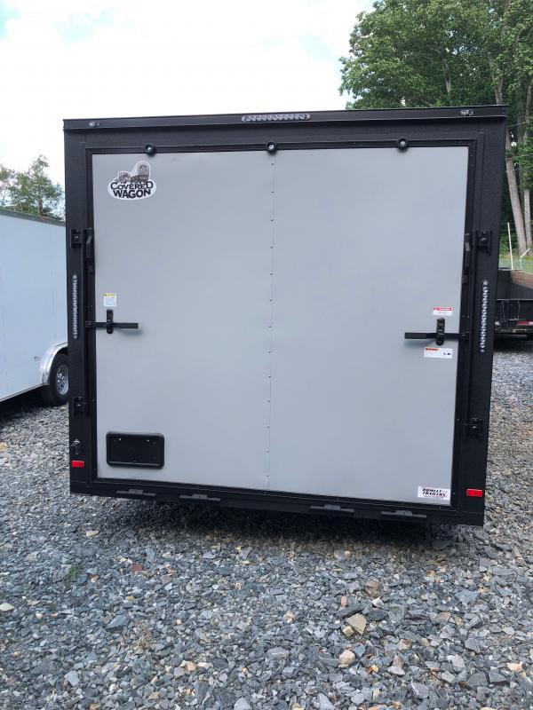 2021 Covered Wagon Trailers 8.5x24 Spread Axle 8.5x24 Enclosed Cargo Trailer