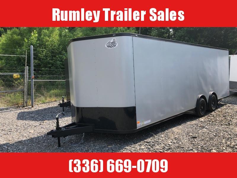2022 Covered Wagon Trailers 8.5x24 Spread Axle 8.5x24 Enclosed Cargo Trailer
