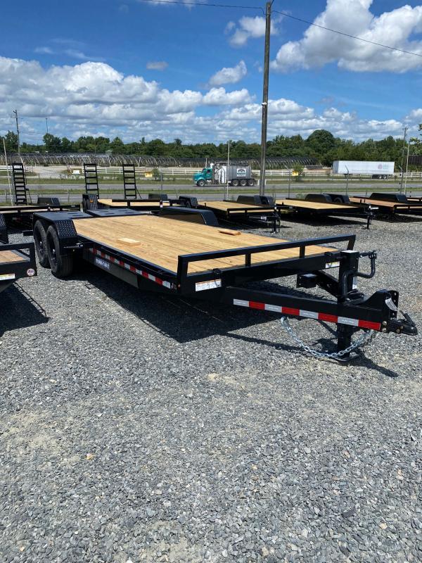 2022 Sure-Trac ST82173URET-B-140 Equipment Trailer