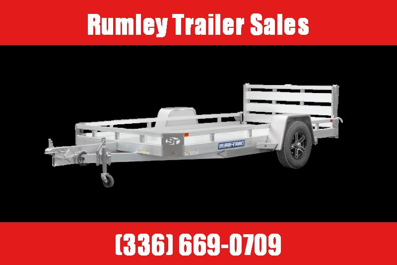 2022 Sure-Trac 7X14 Utility 3K ST8214LS-A-030 Utility Trailer