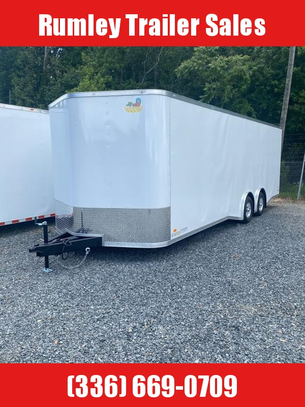 """2022 Covered Wagon Trailers 8.5""""x24 Tandem Axle Gold Series"""
