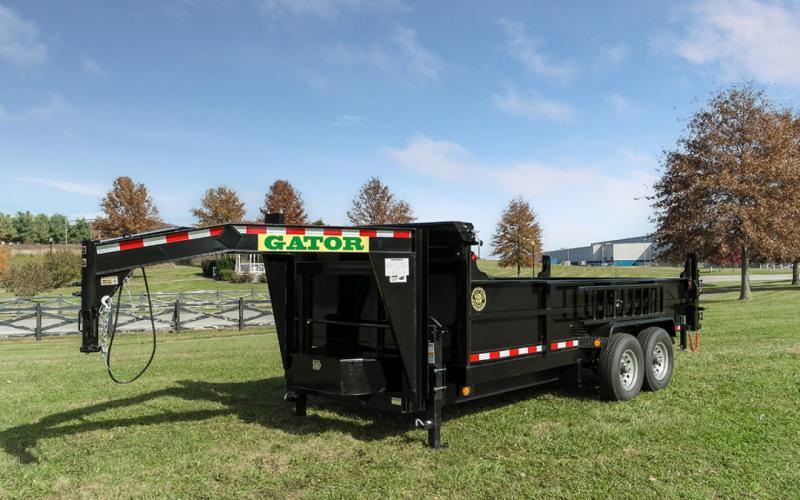 2021 Gatormade Trailers  Gooseneck Dump Trailer 16 ft 14k GVWR