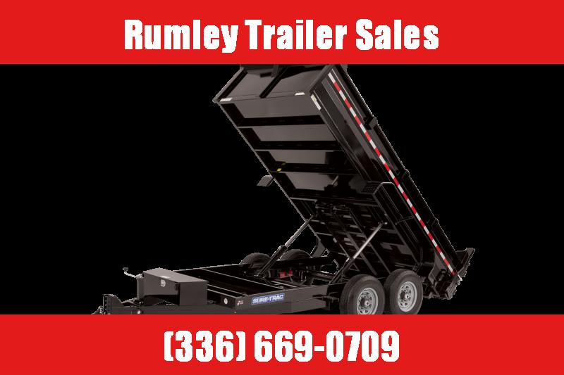 2021 Sure-Trac 7ftx12ft 12k Dump Trailer