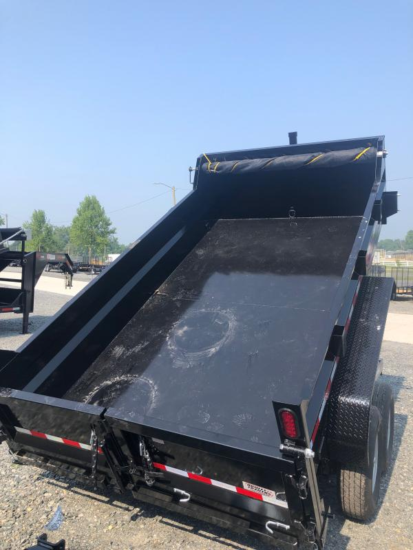2022 Sure-Trac 7ftx12ft 12k Dump Trailer