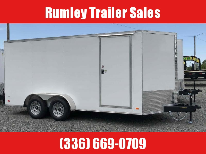 2021 Covered Wagon Gold series 7x16 v nose