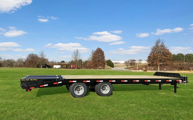 2021 Gatormade Trailers  Pintle Hitch Equipment Trailer 22k GVWR (Wide Ramps)