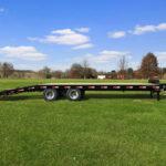 2022 Gatormade Trailers  Pintle Hitch Equipment Trailer 22k GVWR (Wide Ramps)