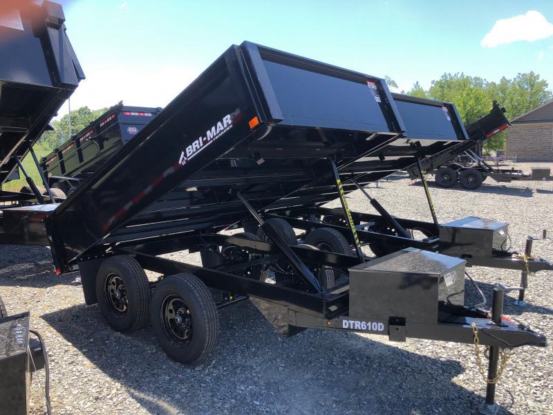 2022 Bri-Mar DTR610D-7 Dump Trailer