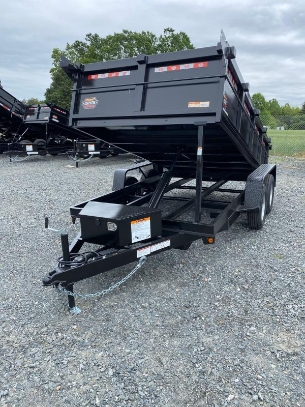 2021 Covered Wagon Trailers 6x12 7k Dump Trailer
